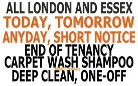 SHORT NOTICES DEEP ONE OFF DOMESTIC CLEANING SERVICES END OF TENANCY CARPET BUILDERS HOUSE CLEANERS