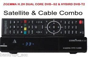 ZGEMMA H.2H ✔Combo✔HD Receiver✔Dual Core Linux ✔DVB-S2 + Hybrid DVB-T2/C (CABLE)
