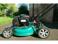 Qualcast self propelled petrol lawnmower - 46cm