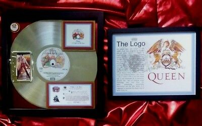 QUEEN  Platinum Award   A NIGHT AT THE OPERA  W-Freddie Mercury photos & COA