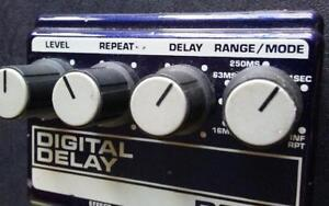 80's ERA ANALOG GUITAR EFFECTS PEDALS