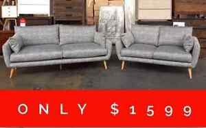 FORWELL 3+2 SOFA SET - FURNITURE OUTLET Granville Parramatta Area Preview