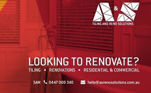 A&S Tiling and Reno solutions Morley Bayswater Area Preview