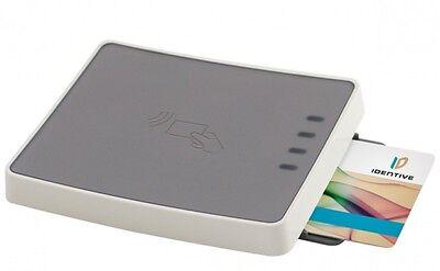Identiv Utrust 4701 F Dual Interface Smart Card Reader Airmail Taiwan