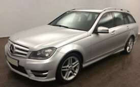 MERCEDES-BENZ C220 C250 D AMG LINE SPORT ESTATE PREMIUM PLUS FROM £62 PER WEEK!