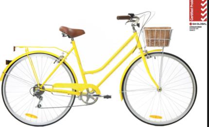 REID Vintage style Bike - 7 Speed - NEW