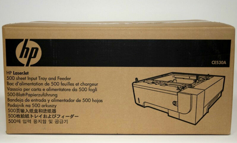 Brand New  GENUINE HP CE530A, LaserJet 500 sheet Feeder/Tray for P3015 Series