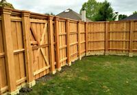 Paul's Construction & Development Inc. FENCE/PATIO BEFORE WINTER