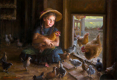 Morgan Weistling OLIVIA'S COUP giclee canvas #75/75