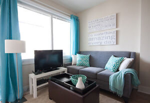 Yaletown Downtown 2BR+Den Furnished Condo with Balcony, Gym