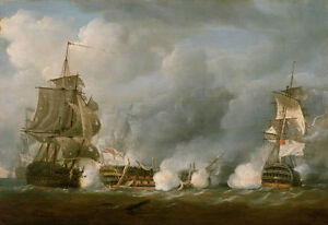HMS Defence at the Battle of the Glorious 1st June 1794