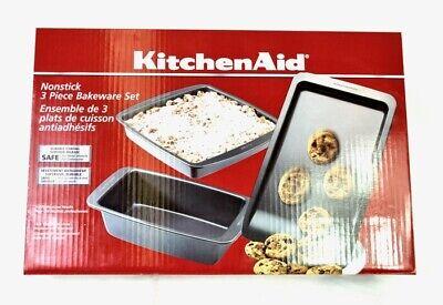 KitchenAid Nonstick 3 Piece Bakeware Set