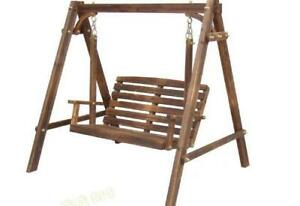 BLOW OUT SALE - Wooden Swing High Quality - Brand New