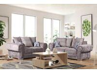 💚🤍💚AMAZING OFFER💚💖💚Brand New Verona 3+2 / Corner Sofa / Swivel Chair / Footstool