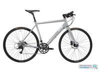 Eastway flat bar 3.0 Hybrid racer/road bicycle, hydraulic brakes, bought £799. Ladies or gents bike