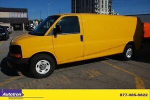 2012 Chevrolet Express 3/4 TON EXTENDED,TRAC CTRL,NO Windows,CD