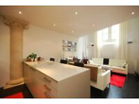 2 DOUBLE bedroom CHURCH CONVERSION with MODERN DECOR and a FULLY EQUIPPED KITCHEN