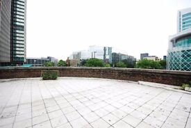 Studio flat, close to all amenities with roof terrace - Warren Court, NW1