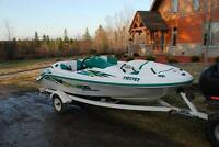 1999 Seadoo Challenger Dual Jet Drive Boat w/trailer $5400 FIRM!