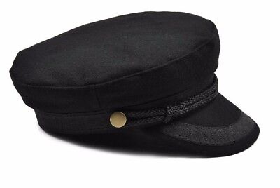 NEW w/ tags- Women's military inspired Lieutenant Fiddler Greek fisherman hat