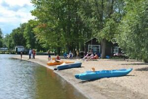 Weeks still available this summer.- Beachfront on Golden Lake.