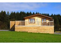 Yellowscott Country Park. Stylish Four Star Self Catering Lodges with Private Outdoor Hot Tub.