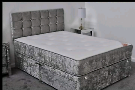 🔥Brand new beds with matching headboard!!FREE DELIVERY