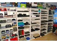 After older consoles and video games collections
