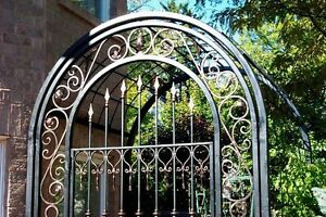 WROUGHT IRON CUSTOM FENCES AND GATES