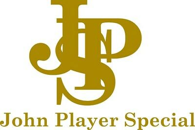 JPS John Player Special f1 formula 1 logo cut vinyl decal car sticker 15x9cm for sale  Banbury