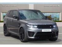 2017 Land Rover Range Rover Sport 5.0S V8 (550hp) SVR Auto Station Wagon Petrol