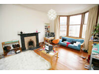 Large bright room in refurbished West End flat.
