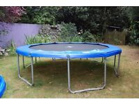 Large ,garden trampoline for sale -