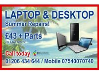 Local fast and friendly Laptop & Desktop Specialist