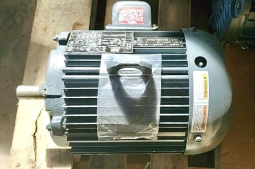 NEW  Lincoln 5HP, 3PH, 230/460V,  90.2% Efficient, TEFC  AC Electric Motor 184T