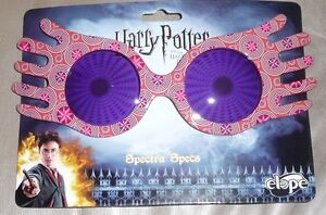 Harry Potter Luna Lovegood Spectra Specs Costume Glasses Licensed NEW