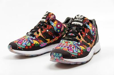 New Adidas x Italia Independent Collab ZX Flux Shoes Boost AQ5460 Multicolor (Zx Flux Italia)