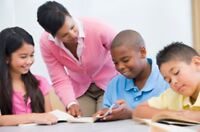 Tutor kids in groups or private for English, French and Math