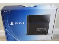 Playstation 4 (500GB) with 2 games