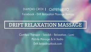Drift Relaxation Massage Diamond Creek Nillumbik Area Preview