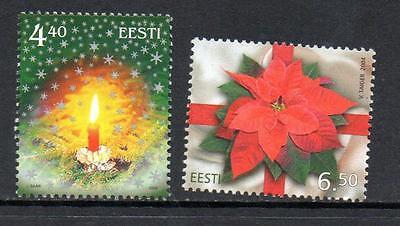 ESTONIA MNH 2004 SG474-475 CHRISTMAS