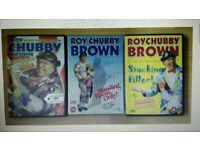 Roy Chubby Brown dvds x 3