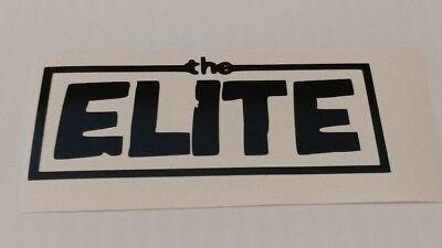 The Elite Bullet Club Laptop, Car, Window, Locker and Yeti Decal x2 ()