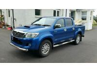 Toyota Hilux Invincible 3.0 £12250 +vat