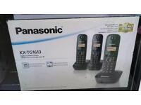 Panasonic triple housephone set