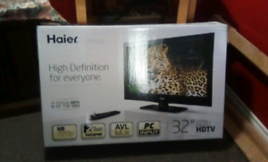 32  inches t.v.