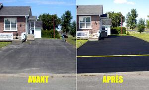 -Scellants d'asphalte, Scellantsde pavé-uni, Reconditionnement