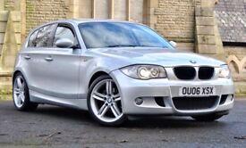 BMW 120D M SPORT SAT NAV, 121K, FSH, MEGA SPEC