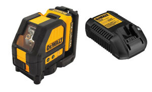 Dewalt (DW088LG) 12V Green Cross Line Laser Level Kit $279.99