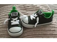 All Star Converse Shoes - Green